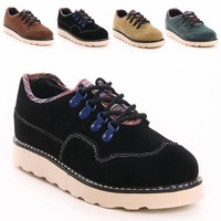 High quity New fashion 2013 Height Increasing men Genuine Leather shoes Autumn / Winter sneakers Outdoor boots size 39-44 px5922