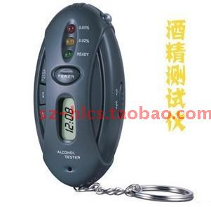Alcohol tester digital led lighting alcohol tester tape keychain
