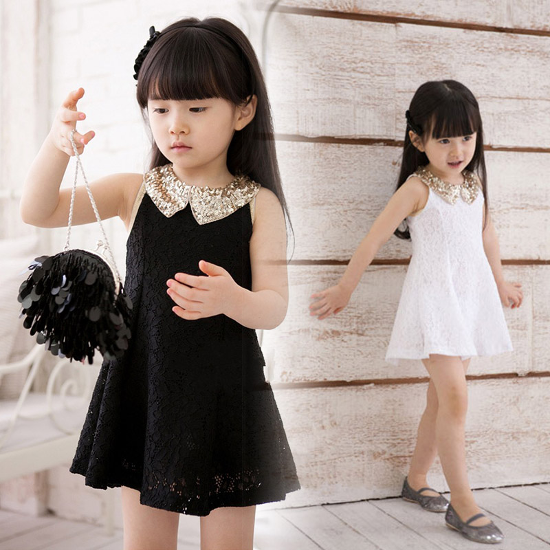 2013 summer paragraph clothing sleeveless lace skirt female child 100% cotton one-piece dress princess dress vest kid&#39;s skirt(China (Mainland))