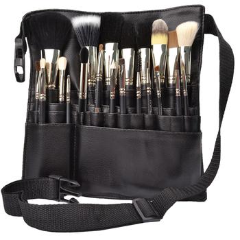 Cosmetic brush full set m21 cosmetic brush copper pipe waist pack makeup tools