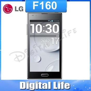 "F160L original phone LG Optimus LTE II F160 F160S F160K cell phone 4.7"" capacitive touch screen LTE 2 16G internal 2GB RAM"