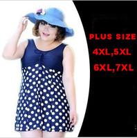 cheap cute bathing suits for women 2014 discount women plus size print one piece swimsuits beach clothes for women XXXXL