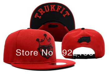 Trukfit Boys King Snapback red  hat  caps baseball  snapbacks cap adjustable hats 01