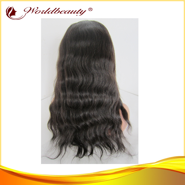 16&#39;&#39;,18&#39;&#39;,20&#39;&#39; hot selling natural color natural wave virgin brazilian hair u part lace front wig fast free shipping with gifts(China (Mainland))