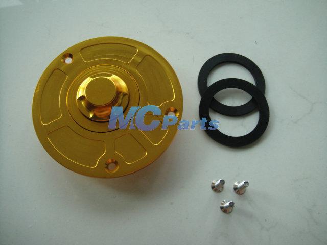 Free Shipping CNC Keyless Fuel Gas Tank Cap For Honda CBR 600 F4I F4 F3 F2 VFR RVF 400 Honda CBR 250 400 1000 929 954 RR Gold(China (Mainland))