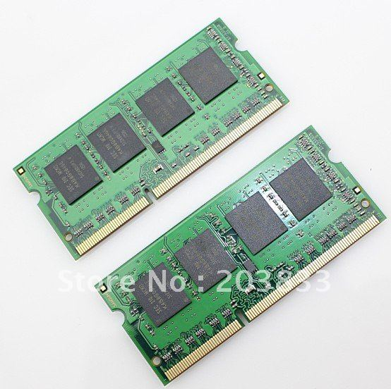 Discount!!! Laptop RAM Memory DDR2 8GB Kit (4X2 PCS) 800MHZ SO-Dimm 200 pins + Free shipping(China (Mainland))