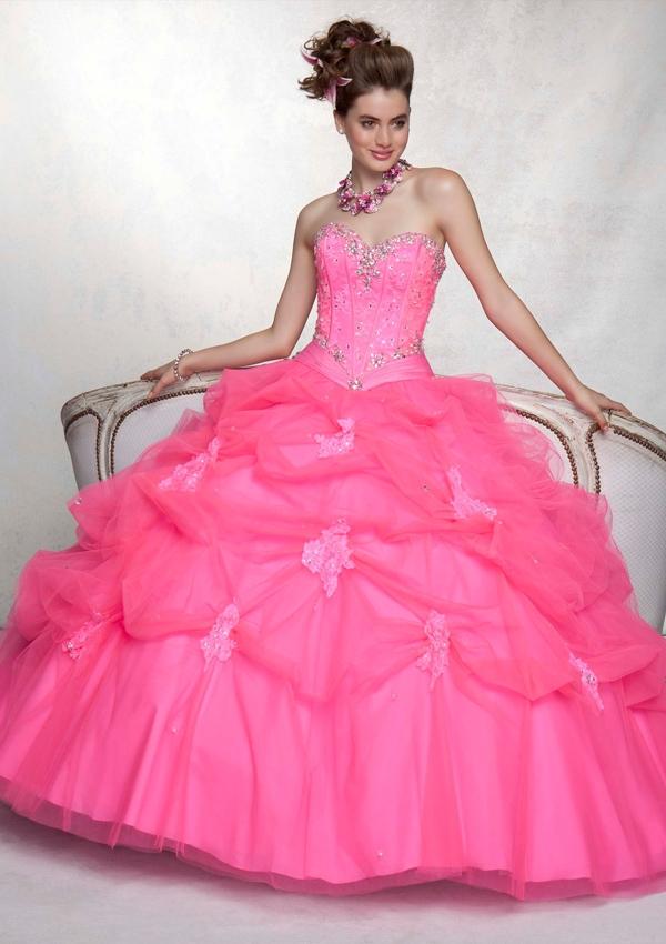 Excepcional Sweetheart Vestidos De Dama De Honor Festooning ...