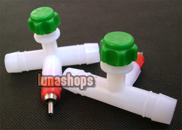 100PCS/LOT ball valve nipple drinkers drinker water for poultry chicken chook(China (Mainland))