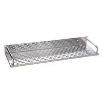 Stainless steel bathroom shelf wall storage rack seasoning rack spice rack metal
