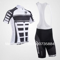 Free Shipping 2013 ASSOS Cycling Jersey Short Sleeve and Cycling bib Shorts Cycling Kits Strap Monton Cycling jm527014