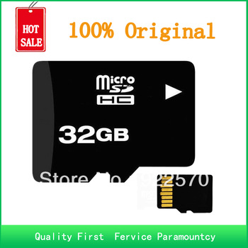 Free Shipping, Brand NEW Micro SD Card 32gb Class 10 MICRO SD HC MICROSDHC TF FLASH MEMORY CARD REAL 32 GB
