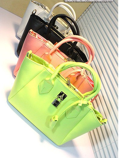 2013 Free shipping hot sale korean style candy jelly bag for women(China (Mainland))