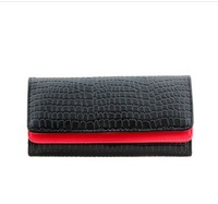 Free shipping hot sale lady leather wallet, wallet women ,leather purse,1pce wholesale, quality guarantee , CL-029