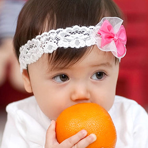 Child headband customize spring new arrival baby princess hair accessory small