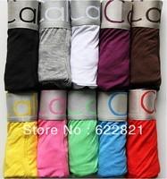 High Quality Men's Underwear BoxersCotton Underwear Man Underwear Boxer Shorts 4 Size free shipping