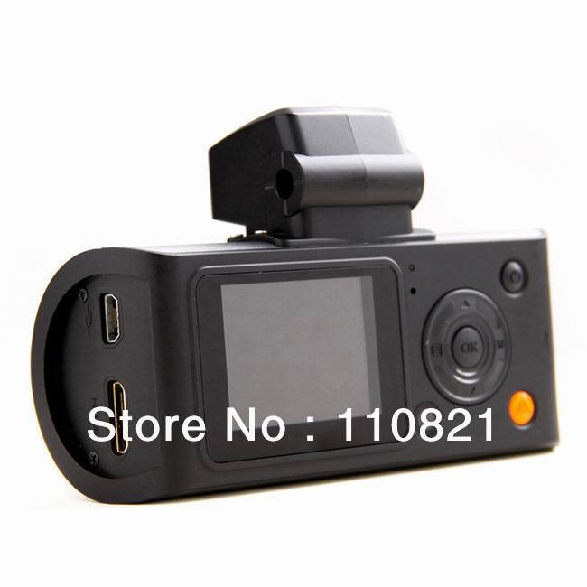 Free Shipping HD110 High Definition Lens+Waterproof -view Lens Rotating Car GPS logger Data Recorder Camcorder Mini X3000AVIN(China (Mainland))