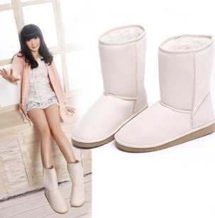 Drop shipping fashion women snow boots flat heel brand name designer winter snow shoes free shipping plus size 35-42(China (Mainland))