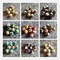 Cloisonne bead 6mm diy beads accessories cloisonne beads enamel bead