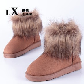 Fashion casual 2013 rivets Emboss slip-resistant waterproof platform snow boots cotton-padded brand designer women snow shoes(China (Mainland))