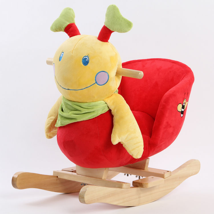 free shipping Anaqic baby toy gift baby rocking chair caterpillar rollaround horse trojan Best discount price 100%guarantee(China (Mainland))