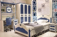 bunk bed New / young children's furniture / boy girl Suite / Prince Suite / Child Bed CH952