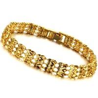 2013 wedding party Accessories fashion jewelry 18k gold pleated jewelry women's bracelet bangles ks364
