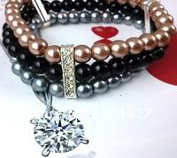 $10.25 Fashion Bracelet Imitation pearl bracelet Ark Riper Bracelet+Free Shopping 3 pieces/lot
