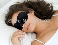 Sleeping Eye Mask Eyepatch Blindfold Shade Travel Sleep Aid Cover Light Guide