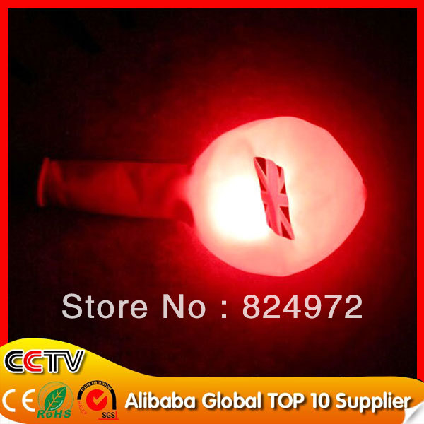 Free shipping 50pcs/lot Led light up flashing luminous Led Balloons For Valentine&#39;s Day with CE and ROHS Certificate(China (Mainland))