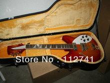 Atacado -melhor guitarra china deluxe Modelo 360 12 guitarra elétrica semi oco nova chegada qualidade superior OEM(China (Mainland))