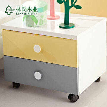 Storage bedside cabinet child bed side cabinet bedside cabinet t-xydhs-62(China (Mainland))