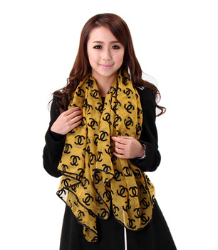 Winter fashion van fashion plaid women's high quality ultra thin long silk scarf large cape female