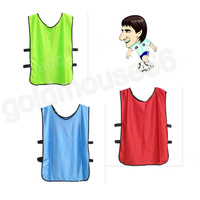 Lot  of 6 pcs Soccer Football Shirt Lacrosse MENS Scrimmage Training Vests