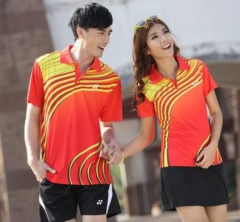 2013 New  badminton clothing suit male / female models badminton clothing suit couple models