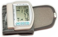 Free  shipping,   Wrist automatic blood pressure monitor blood pressure meter