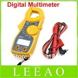 12pcs/lot # Multimeter Electronic Tester AC/DC Current DIGITAL CLAMP Meter MT87 Free Shipping(China (Mainland))