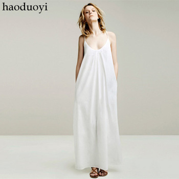 Fashion Women's floor-length dress with spaghetti strap for free shipping for manufacturer and retail