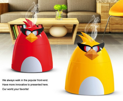 (Freeship) Classic style hot selling Ultrasonic Cool Mist Humidifer and Air Purifier(AGBird Style)(China (Mainland))