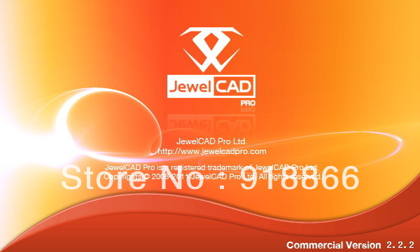 Jewelry design software the with JewelCAD Pro 2.2.2 Chinese / English full-featured support Win 7(China (Mainland))