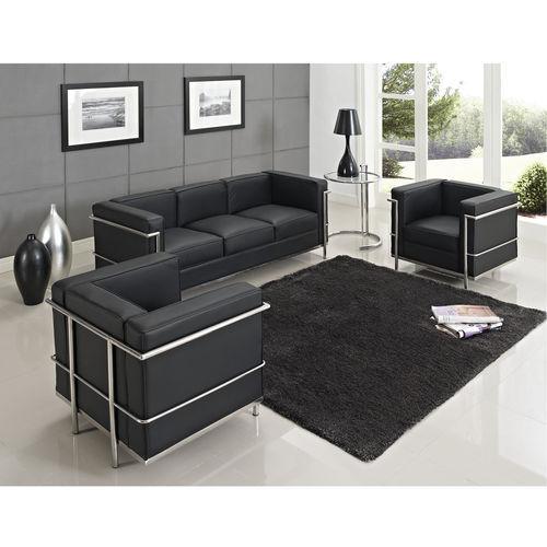 achetez en gros sofa corbusier lc2 en ligne des grossistes sofa corbusier lc2 chinois. Black Bedroom Furniture Sets. Home Design Ideas