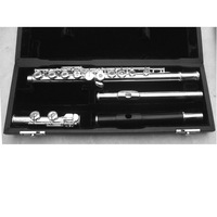 Advanced16hole flute C Foot2 pcs ebony/brass head joint