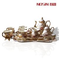 Coffee royal fashion coffee cup tea set quality ceramic set gift