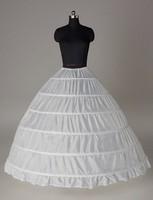 6 Hoops Bridal Wedding Petticoat Crinoline Underskirts Slip Ball Gown1