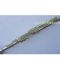 17 Open Holes flute C key Silver Plate +E Great Tone
