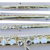 new 16 holes flute golden body beautiful shape +E key