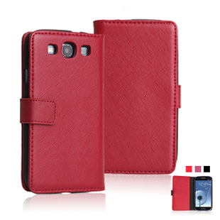 For samsung   i9300 mobile phone protective case s3 leather shell flip leather case quality commercial