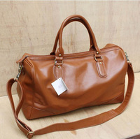 Free shipping 2013 hot sales leather briefcase Men's briefcase Travel bag shoulder bag good leather.1 pce wholesale.TB-BX39
