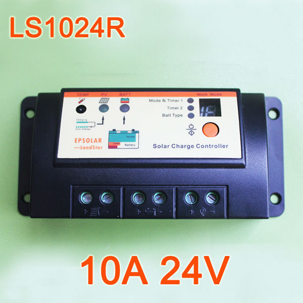 10A 24V EPsolar LandStar Charge Controller Regulator LS1024R Solar cells panels Battery(China (Mainland))