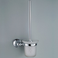 Czn copper toilet brush toilet cup toilet brush rack bathroom accessories toilet brush cup 2495