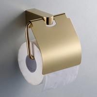 Copper gold toilet paper holder paper towel holder roll holder 2151 gold plated toilet paper rack (XP)